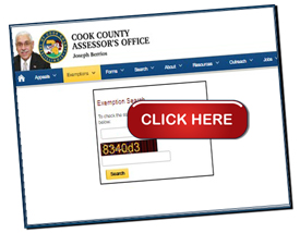 Cook County  Assessor's Board Exemptions missed Exemptions possible TAX Exemptions